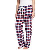 Concepts Sport Women's New England Patriots Piedmont Flannel Pants