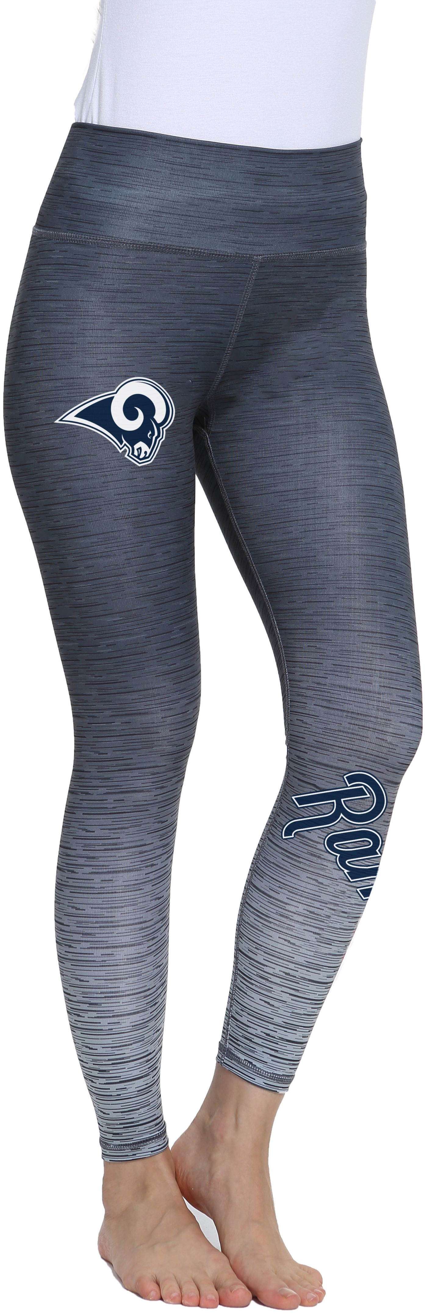 Concepts Sport Women's Los Angeles Rams Flyaway Charcoal Leggings