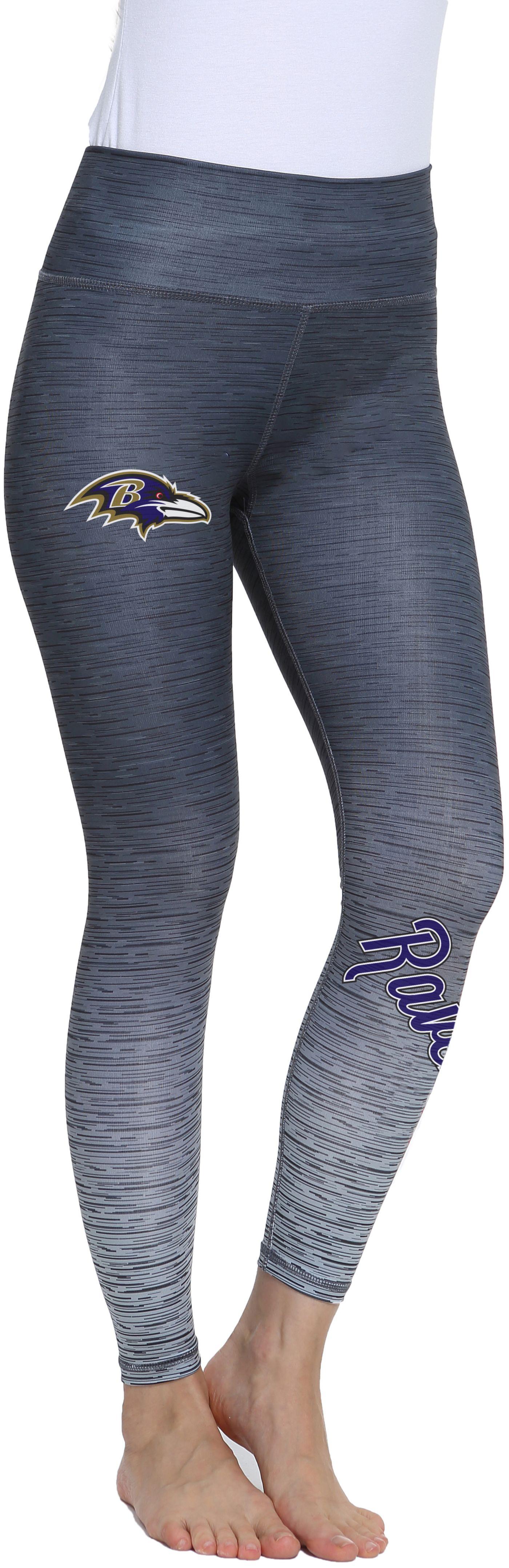 Concepts Sport Women's Baltimore Ravens Flyaway Charcoal Leggings