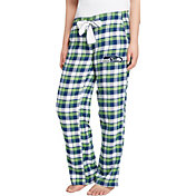 Concepts Sport Women's Seattle Seahawks Piedmont Flannel Pants