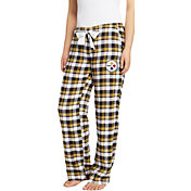 Concepts Sport Women's Pittsburgh Steelers Piedmont Flannel Pants