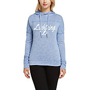 Concepts Sport Women's Tampa Bay Lightning Marble Royal Heathered Pullover Hoodie