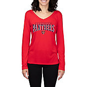 Concepts Sport Women's Florida Panthers Marathon Red Long Sleeve Shirt
