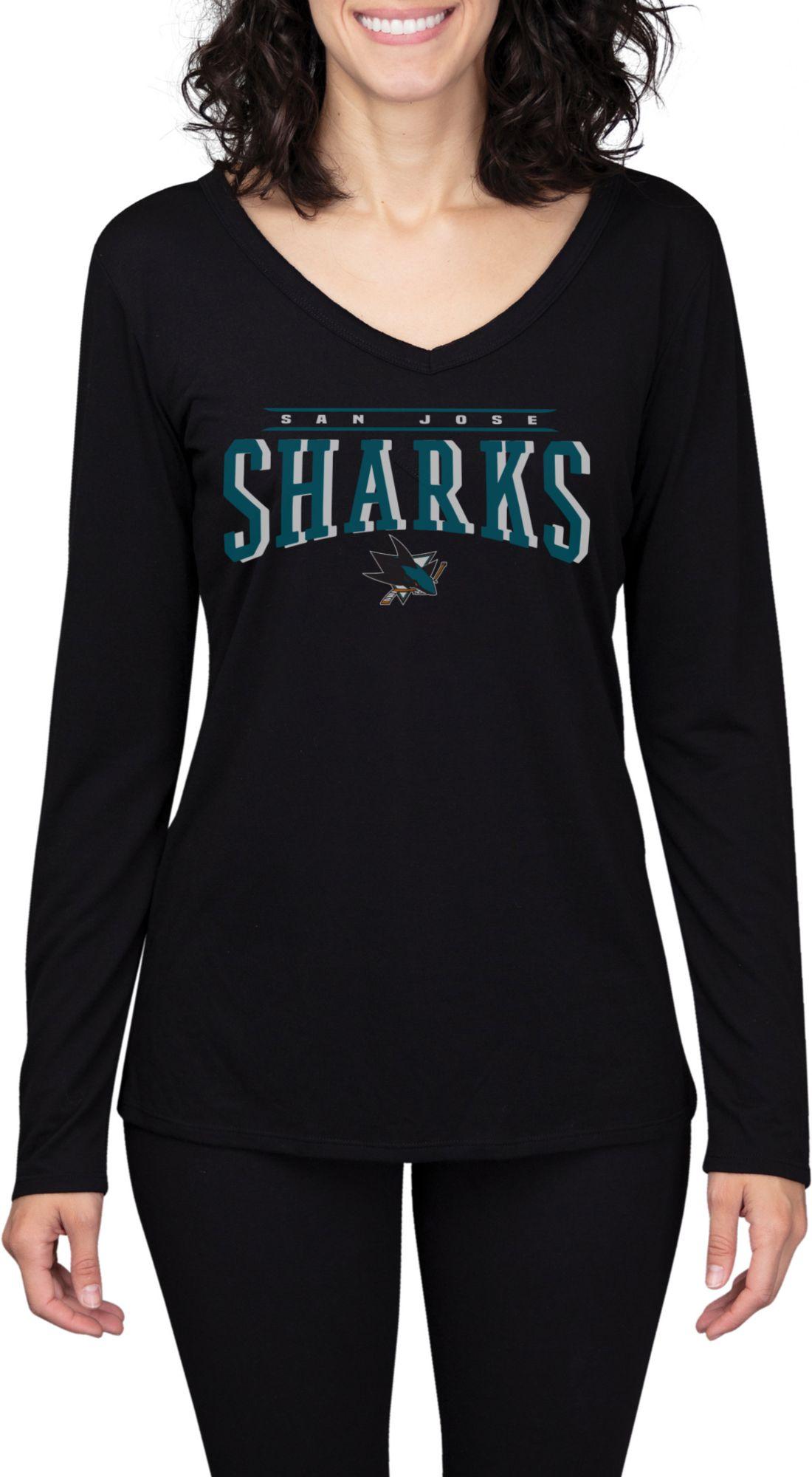 san jose sharks women's jersey