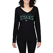 Concepts Sport Women's Dallas Stars Marathon Black Long Sleeve Shirt
