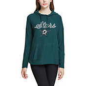 Concepts Sport Women's Dallas Stars Fairway Green Pullover Sweatshirt