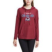 Concepts Sport Women's Colorado Avalanche Fairway Maroon Pullover Sweatshirt