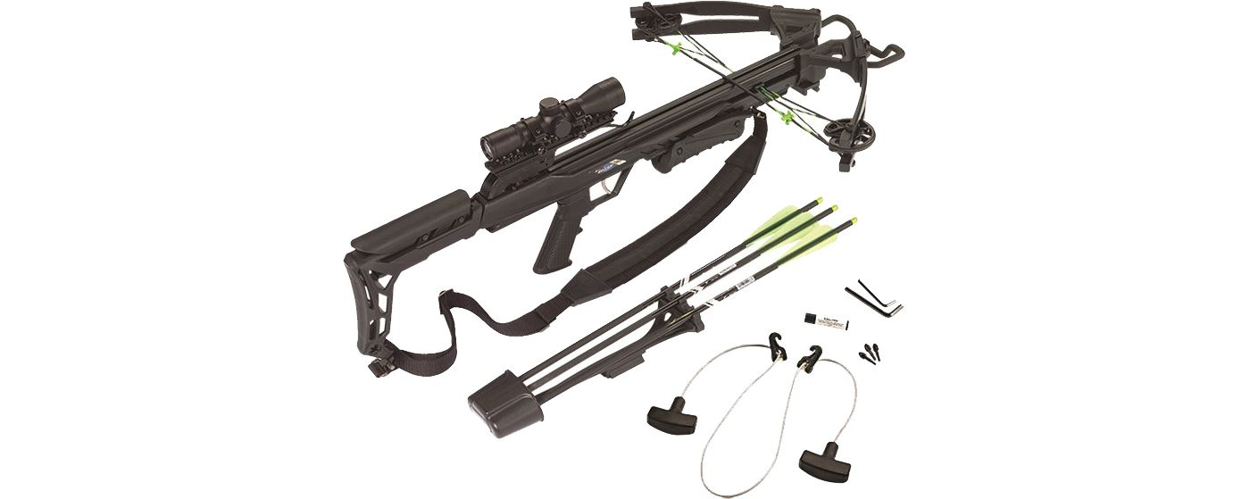 Carbon Express X-Force Blade Crossbow Package - 320 fps