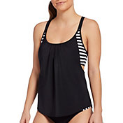 DSG Women's Alex Crossback 2-in-1 Tankini Top