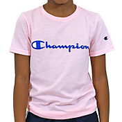 Champion Boys' Classic Script T-Shirt