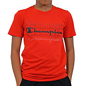 Champion Boys' Multi Script Graphic T-Shirt