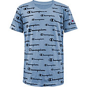 Champion Boys' Allover Print Script T-Shirt
