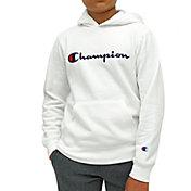 Champion Boy's Script Fleece Hoodie