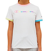 Champion Girls Campus Ringer T-Shirt