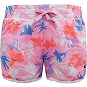 Champion Girls' Floral Print Shorts in Pink
