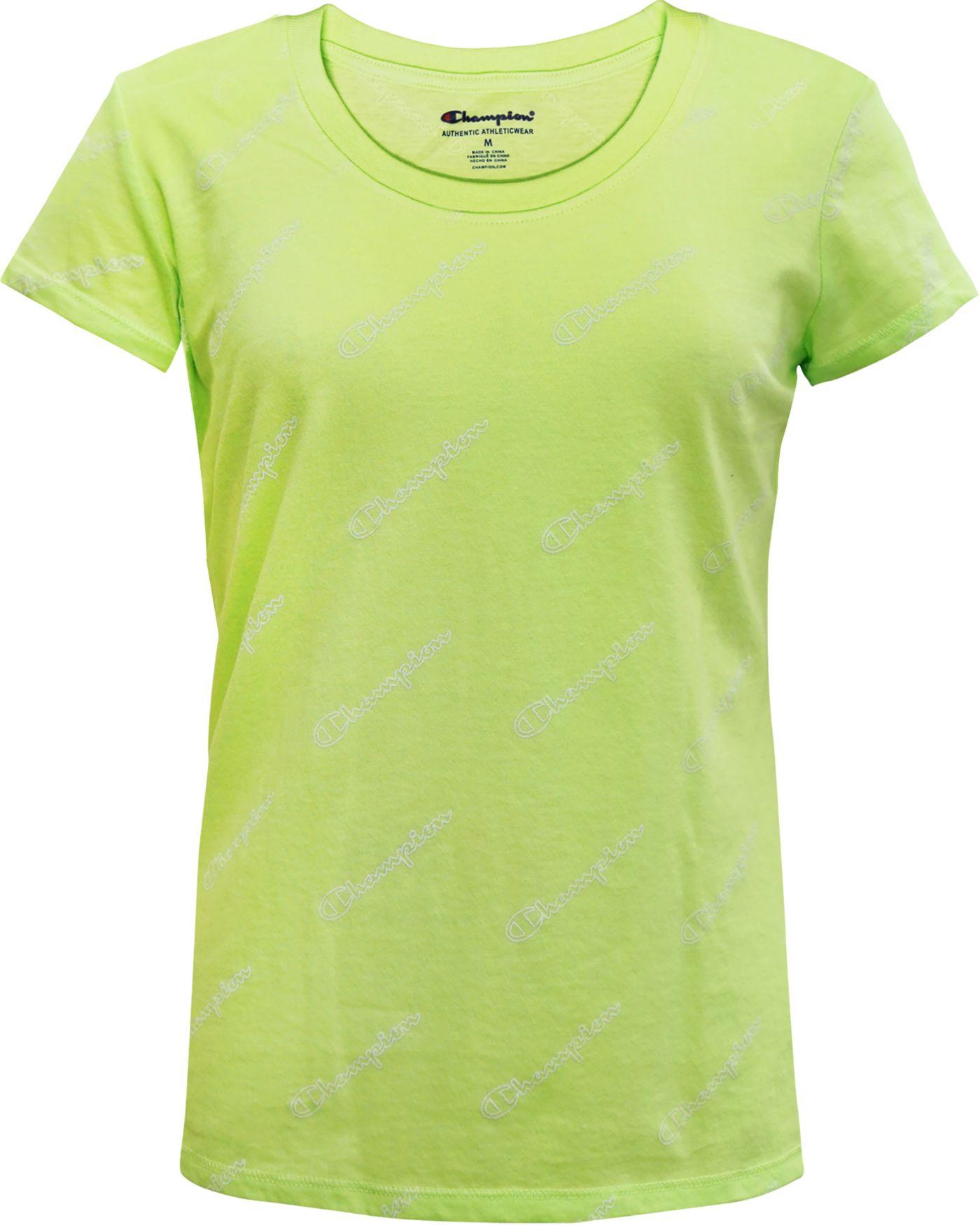 Champion Girls' Small Script Print T-Shirt