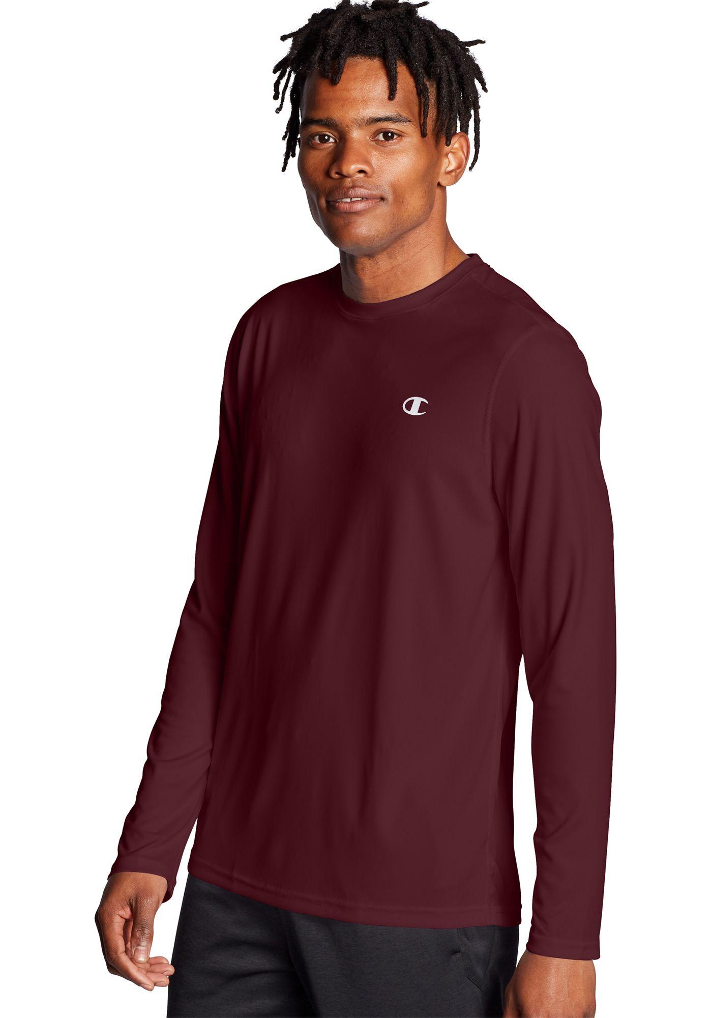 Champion Men's Double Dry Long Sleeve Shirt