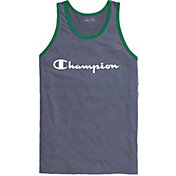 Champion Men's Ringer Jersey Graphic Tank Top