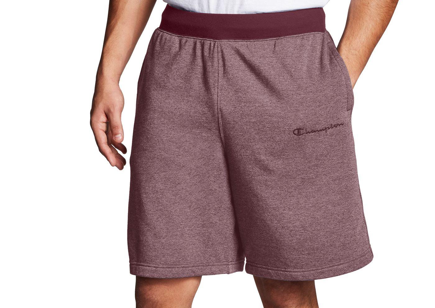 Champion Men's Heritage Heather YC Embroidered Logo Shorts