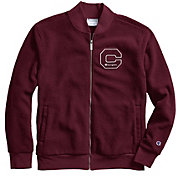 Champion Men's Heritage Sherpa Felt Block C Logo Jacket
