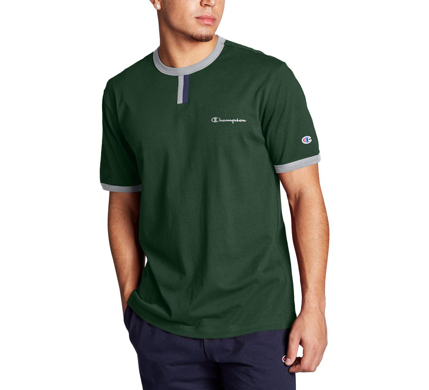 Champion Men's YC Script Logo T-Shirt