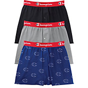 Champion Men's Everyday Comfort Cotton Stretch Boxers – 3 Pack