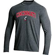 Champion Men's Cincinnati Bearcats Field Day Long Sleeve Black T-Shirt