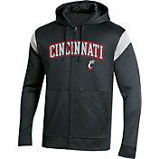 Champion Men's Cincinnati Bearcats Field Day Full-Zip Black Hoodie