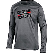 Champion Men's Cincinnati Bearcats Grey Persistent Long Sleeve T-Shirt