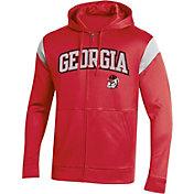 Champion Men's Georgia Bulldogs Red Field Day Full-Zip Hoodie