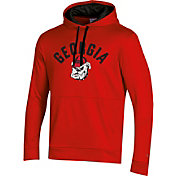 Champion Men's Georgia Bulldogs Red Pullover Hoodie