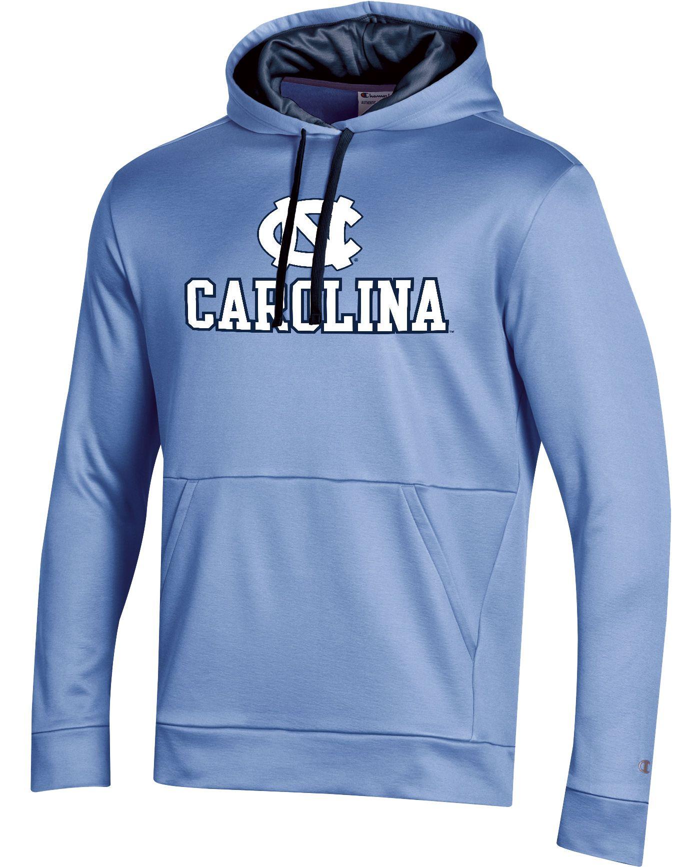 Champion Men's North Carolina Tar Heels Carolina Blue Pullover Hoodie