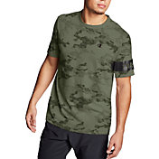 Champion Men's Camo Mesh Block Logo T-Shirt