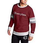 Champion Men's Powerblend Colorblock Crewneck Sweatshirt