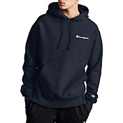 Champion Life Men's Reverse Weave Script Logo Pullover Hoodie