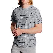 Champion Men's All Over Logo Sportstyle T-Shirt