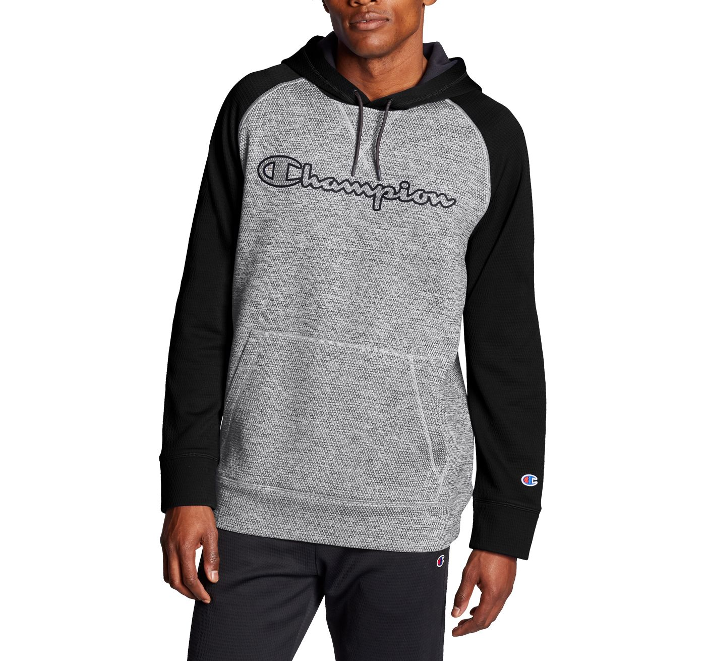 Champion Men's Stadium Fleece Graphic Pullover Hoodie