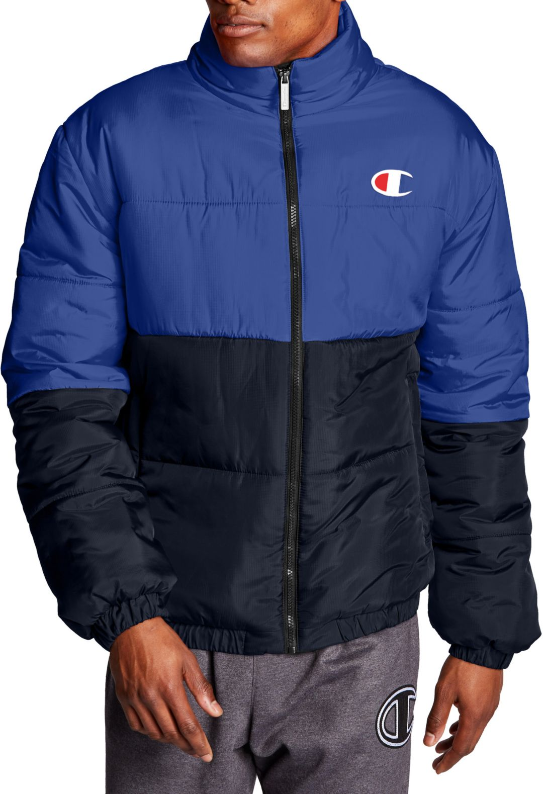 modern style top design superior materials Champion Men's Stadium Puffer Jacket