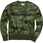 Champion Men's Vintage Camo Fleece Pullover