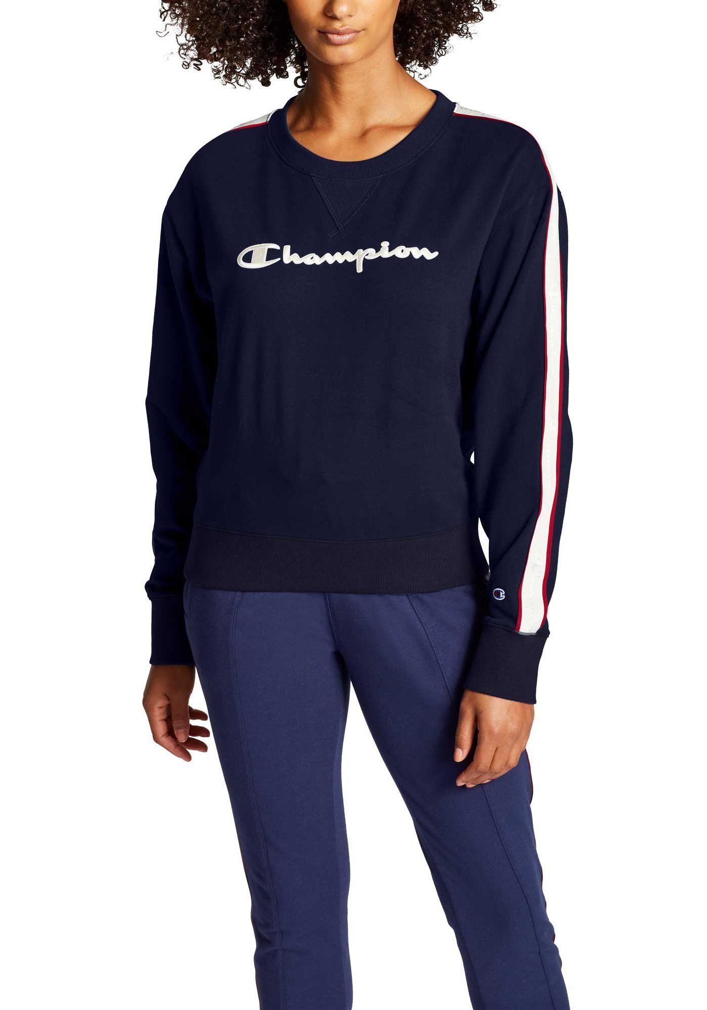 Champion Women's Heritage Crew Fleece Sweatshirt