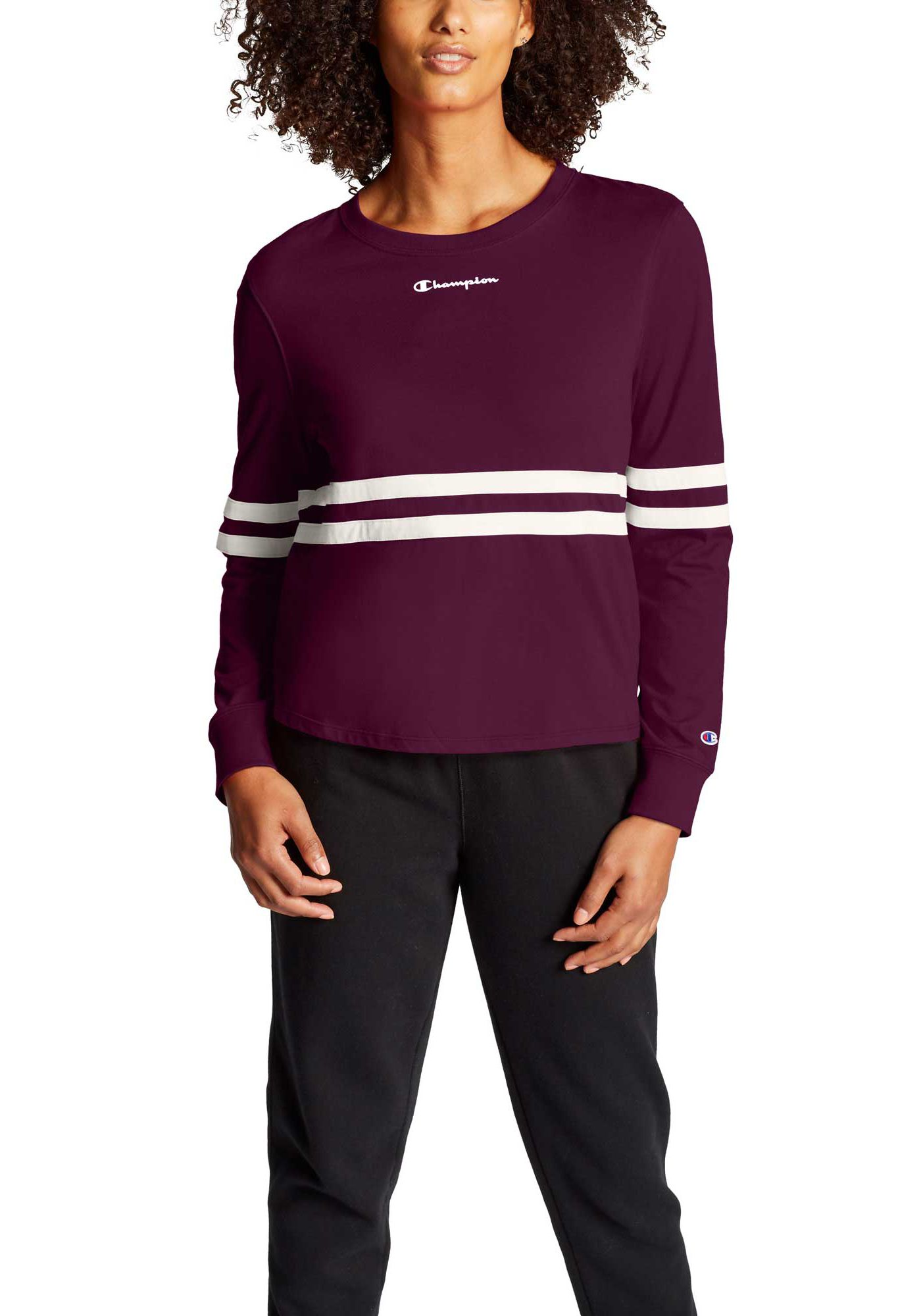 Champion Women's Heritage Long Sleeve Tee