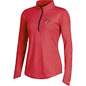 Champion Women's Georgia Bulldogs Red Quarter-Zip Performance Shirt