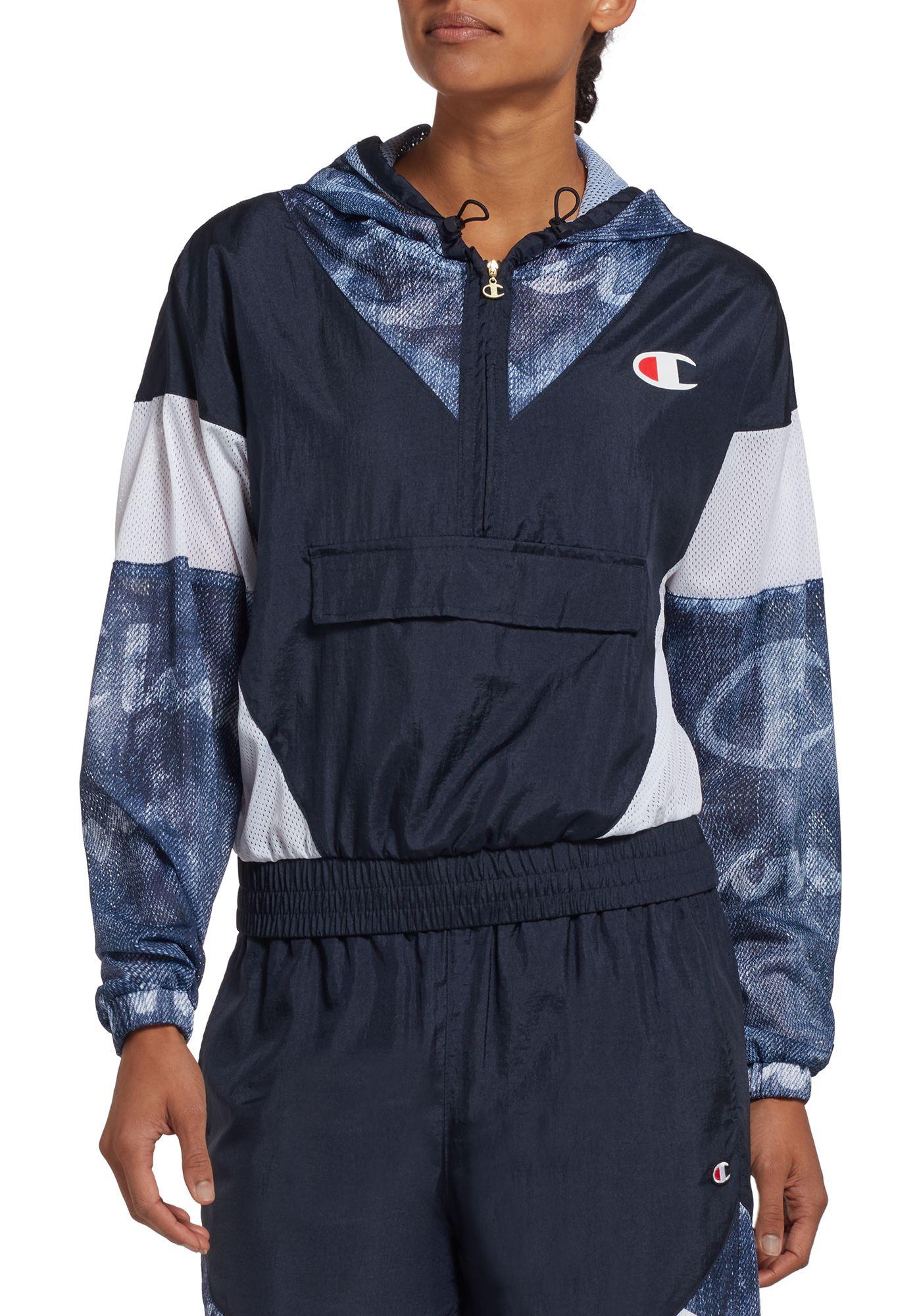 Champion Women's Nylon Warm-Up Jacket