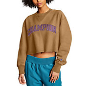 Champion Women's Vintage Wash Reverse Weave Cropped Sweatshirt
