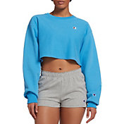Champion Life Women's Cropped Cut-Off Crew Top