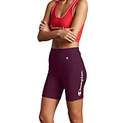 Champion Women's Power Cotton Bike Shorts