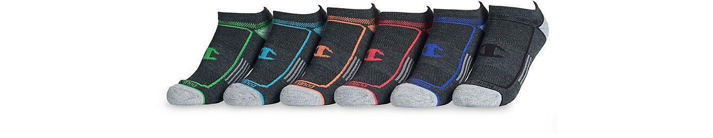 Champion Women's No Show Socks 6 Pack