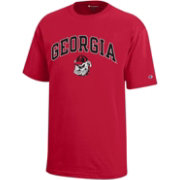 Champion Youth Georgia Bulldogs Red T-Shirt