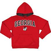 Champion Boys' Georgia Bulldogs Red Pullover Hoodie