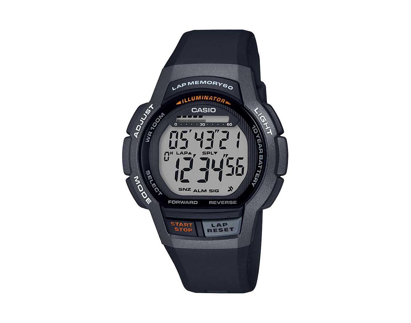 Casio Men's WS-1000 Series Step Tracker Watch